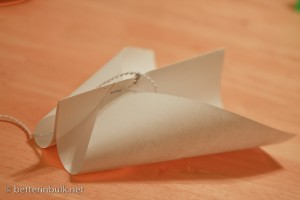 Easy kite instructions - Finished Kite