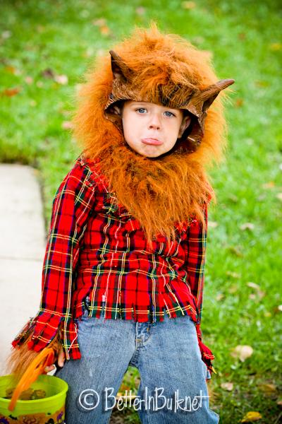 Sad werewolf
