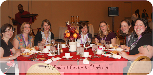 Friends at Aunt Jemima dinner Blogalicious 2011