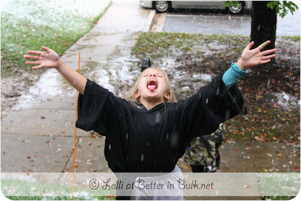 Washington DC snow storm October 2011