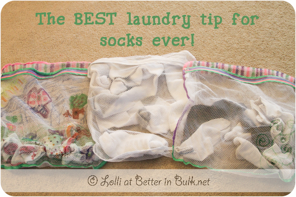 best laundry sock tip ever
