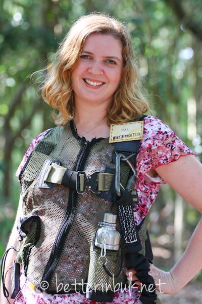 Lolli on the Wild Africa Trek at Disney's Animal Kingdom