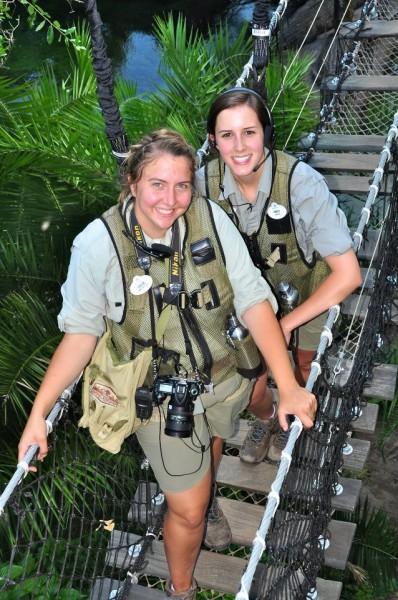 Our guides on the Wild Africa Trek at Disney's Animal Kingdom