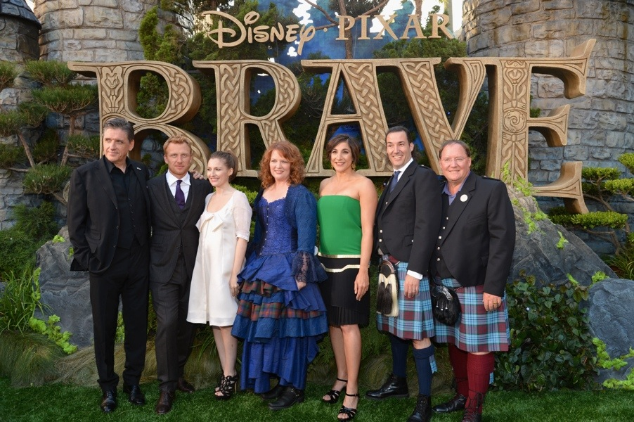 Brave Disney Pixar team