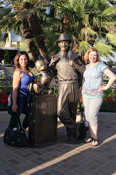 Storytellers Buena Vista Street Disney California Adventure