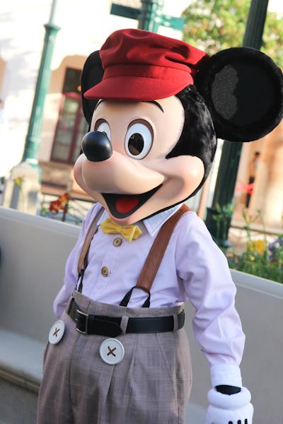 Mickey at Buena Vista Street Disney California Adventure