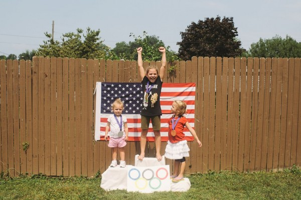 Gold medal gymnast