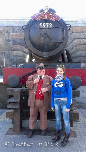 Making memories at Hogwarts