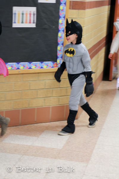 Halloween class parties and parade