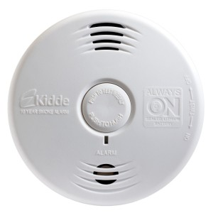 Kidde smoke alarms worry free bedroom-unit