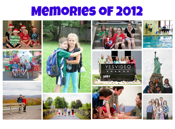 2012-collage best moments of the year