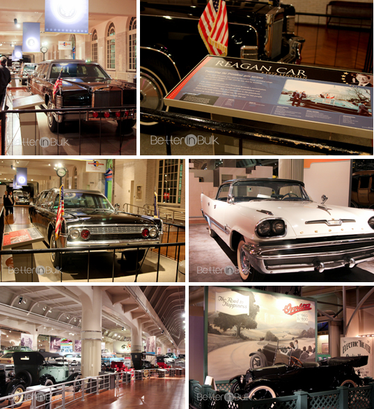 Cars at the Henry Ford Museum