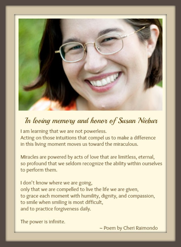 In Honor of Susan Niebur