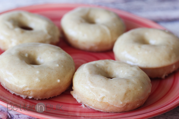 browned butter glazed spice doughnuts