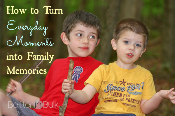 how to Turn Everyday Moments into Family Memories