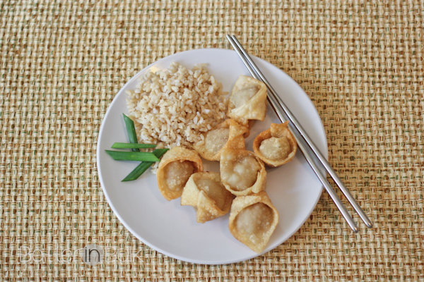 pork and cabbage wontons
