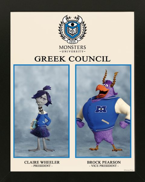 Monster's University Greek Council