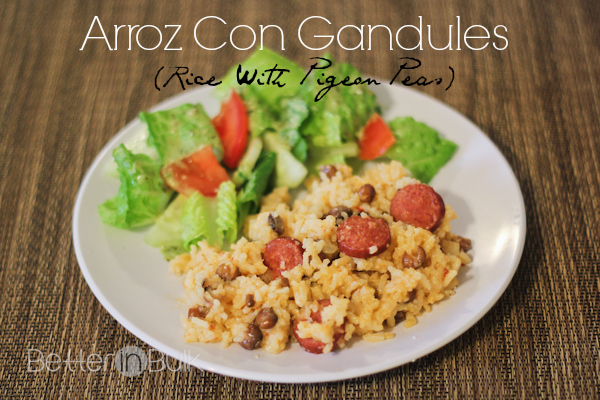 Arroz Con Gandules Recipe with #HebrewNational - #99SummerDays