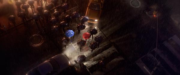 The Blue Umbrella pixar short film