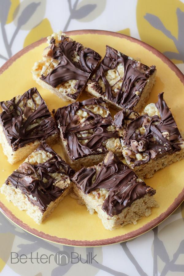 peanut butter rice krispie treats-1