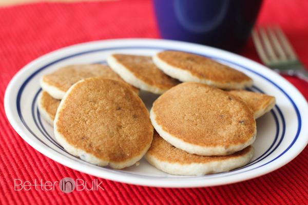 Pillsbury Heat-n-go blueberry pancakes