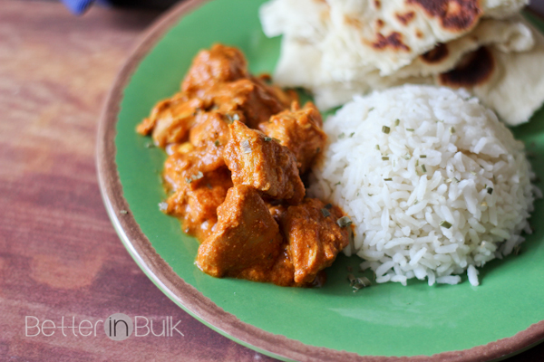 This slow cooker butter chicken recipe is a HIT in our house. Everyone ...