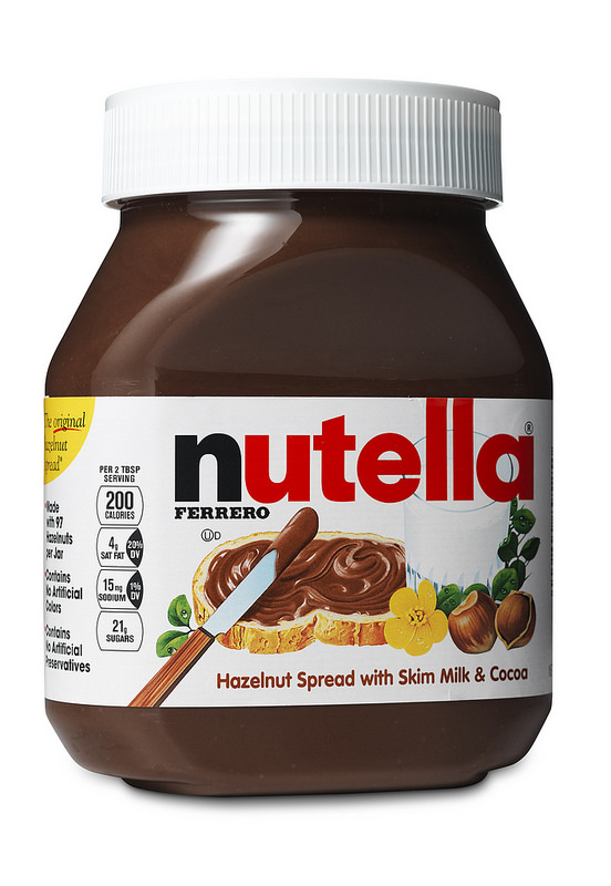 nutella: facts up front