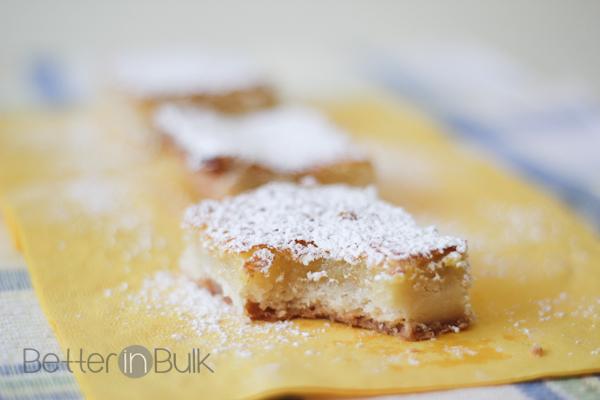 Classic Lemon Bars - Better in Bulk