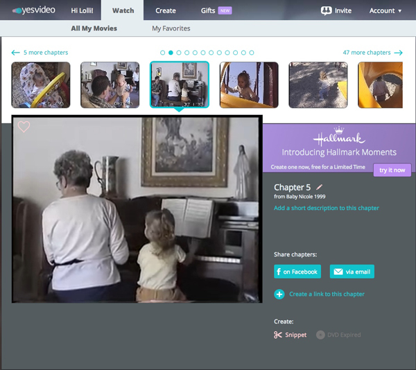 How to Embed Video from Your YesVideo Library