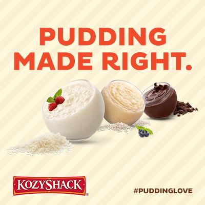 Kozy Shack pudding