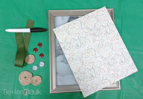 Easy christmas countdown frame craft better in bulk for Craft picture frames bulk