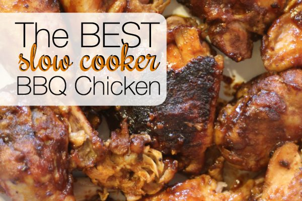 The BEST Slow Cooker BBQ Chicken Recipe