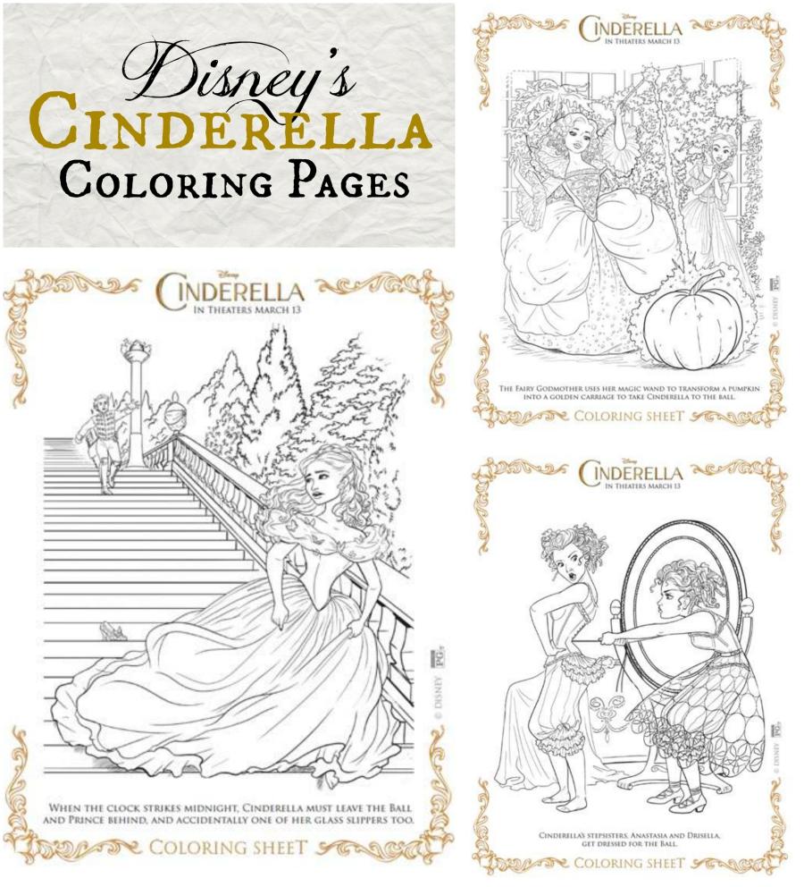 Disney 39 s Cinderella Activity Sheets