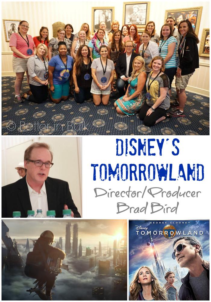 Disney's Tomorrowland on Blu-ray/DVD – Chatting With Brad Bird