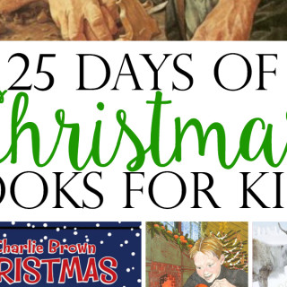 25 Days of Christmas Picture Books for Kids crop