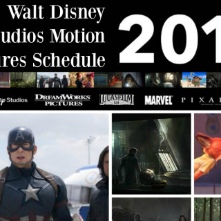 2016 Walt Disney Studios Motion Pictures Schedule