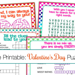 Looking for some fun activities for the kids this Valentine's Day or a great printable for your kid's class party? Check out this FREE printable Valentine's Day puzzle cards!