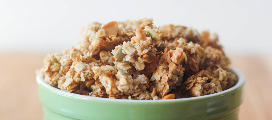 Sea Salt Caramel Cashew Granola