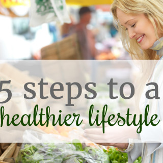 5 steps to a healthier lifestyle