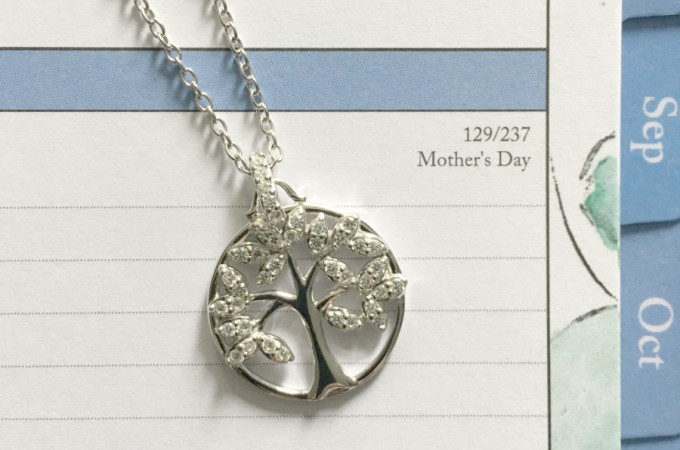 Hallmark jewelry for Mother's Day calendar feature
