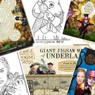 Alice Through the Looking Glass Printable Activity Sheets preview